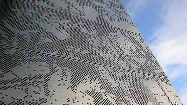Aluminum Composite Panel - Perforated Facade